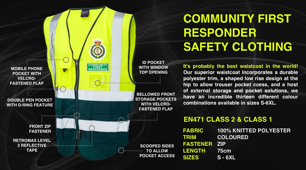 Community First Responder Clothing Uniforms