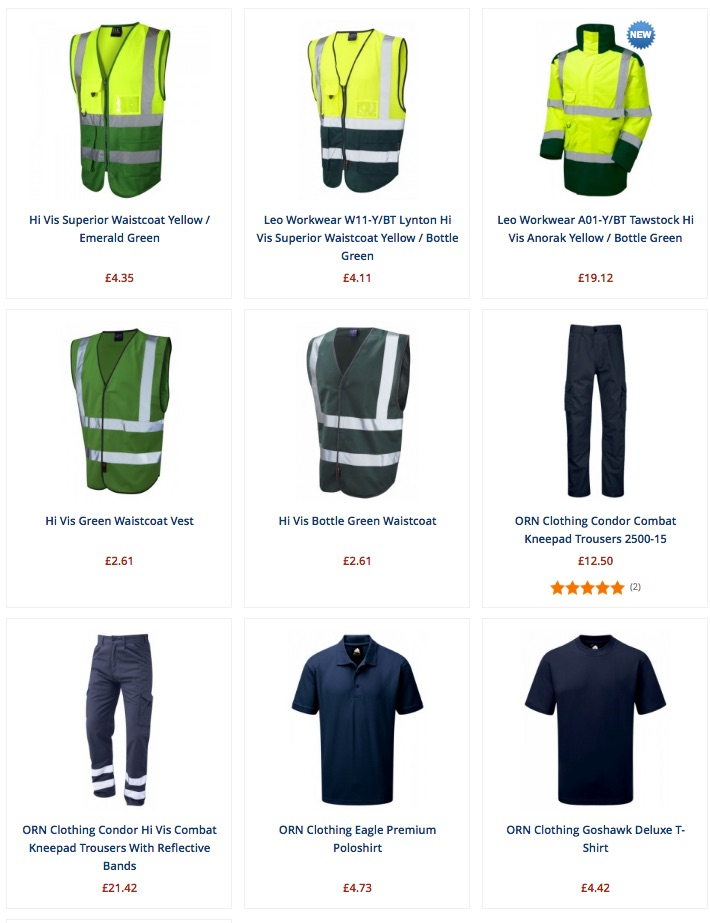 First Responder Clothing