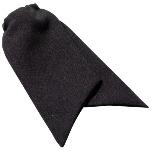 Ladies Clip On Cravat Black