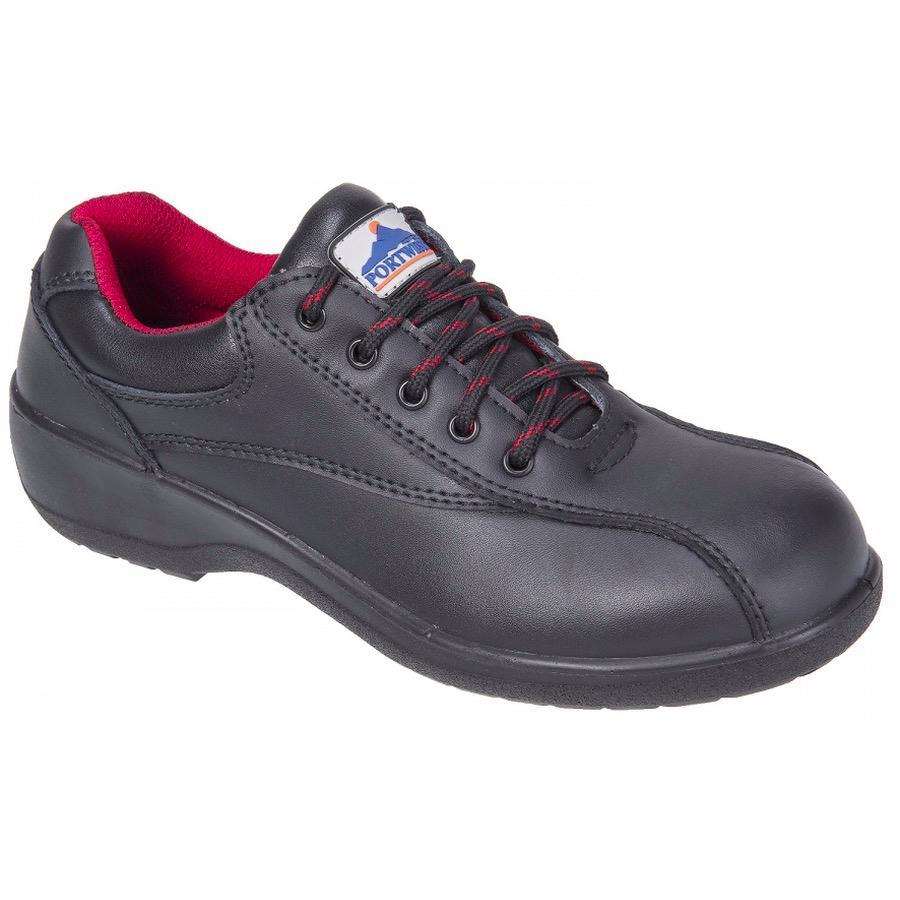 portwest fw41 steelite s safety shoe s1 bk safetywear