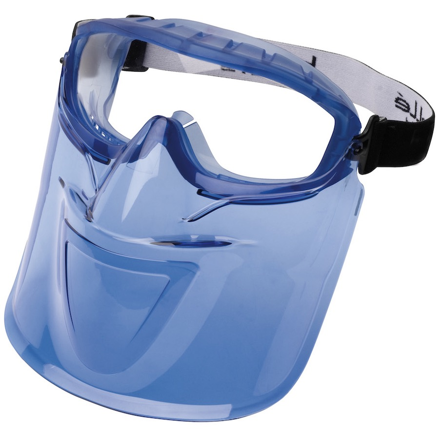 Bk Makeup Home: Bolle ATOM Safety Goggle And Face Shield Set