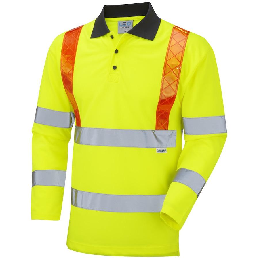 Leo Workwear P07 Y Bickleton Hi Vis Class 3 Coolviz