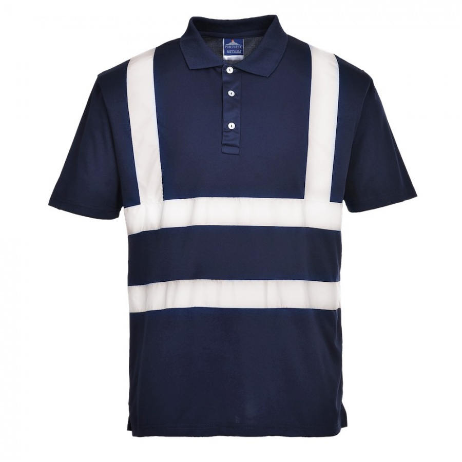 Portwest f477 iona poloshirt bk safetywear for Make a polo shirt