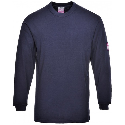 Portwest FR11 Flame Resistant Anti Static Long Sleeve T-Shirt