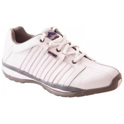 Portwest FW33 Steelite™ Arx Safety Trainer S1P HRO WHITE