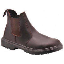 Portwest FW51 Steelite™ Dealer Boot S1P Brown