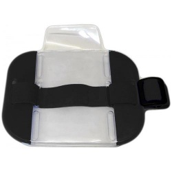 SIA ID Security Armband Large Size Black
