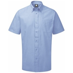 ORN Clothing The Classic Oxford Short Sleeve Work Shirt 130gsm