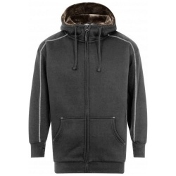 ORN Clothing Crane 1285 Fur Lined Hooded Sweatshirt 620gsm
