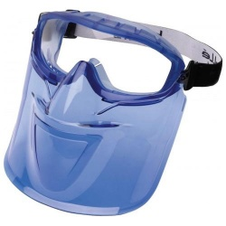 Bolle ATOM safety Goggle and Face Shield Set