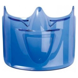 Bolle ATOM Safety Goggle Face Sheild Blue