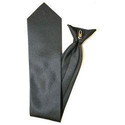 Clip On Tie 100% Polyester