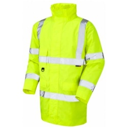 Leo Workwear A01-Y Hi Vis Jacket Yellow