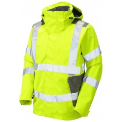 Leo Workwear Hi Vis Breathable Exmoor Jacket