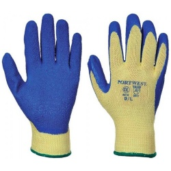 Portwest A610 Cut 3 Latex Grip Glove