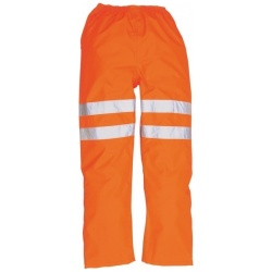 Portwest RT31 Hi Vis Traffic Trousers GO / RT