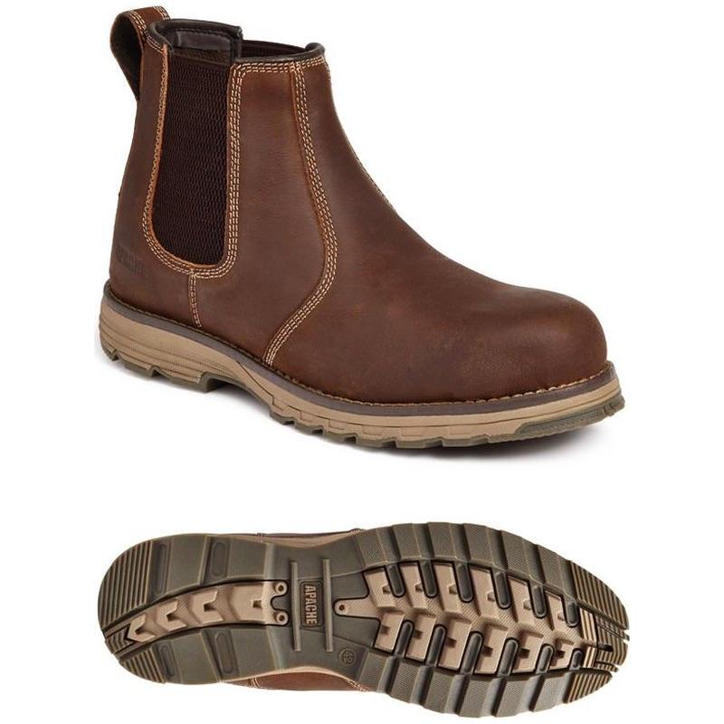 053f02eff1f Apache Workwear Flyweight Water Resistant Dealer Boot Brown