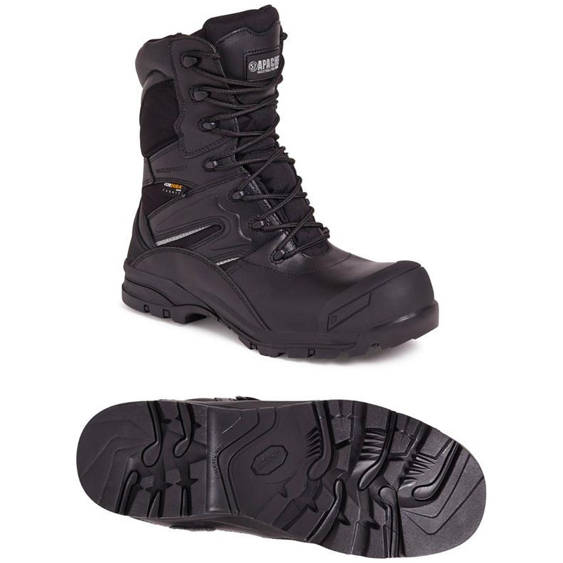 13653b1859c Apache Workwear Non Metallic High Leg Combat Safety Boot