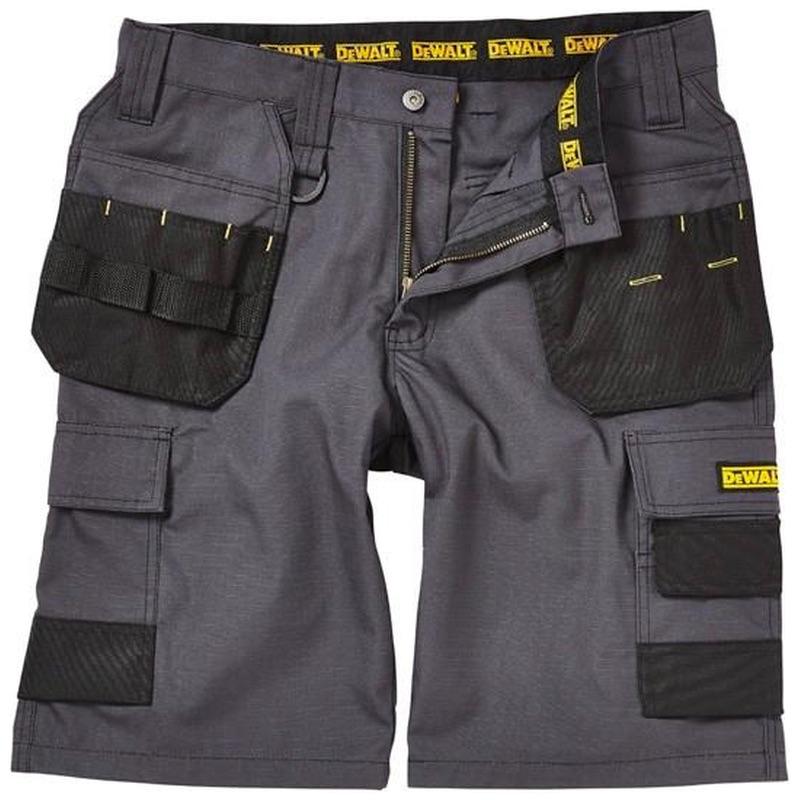 4edab834ef7 Dewalt Cheverley Rip Stop Shorts Grey
