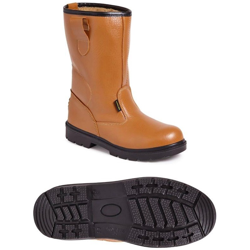 Worksite SS403SM Fur Lined Rigger S1P
