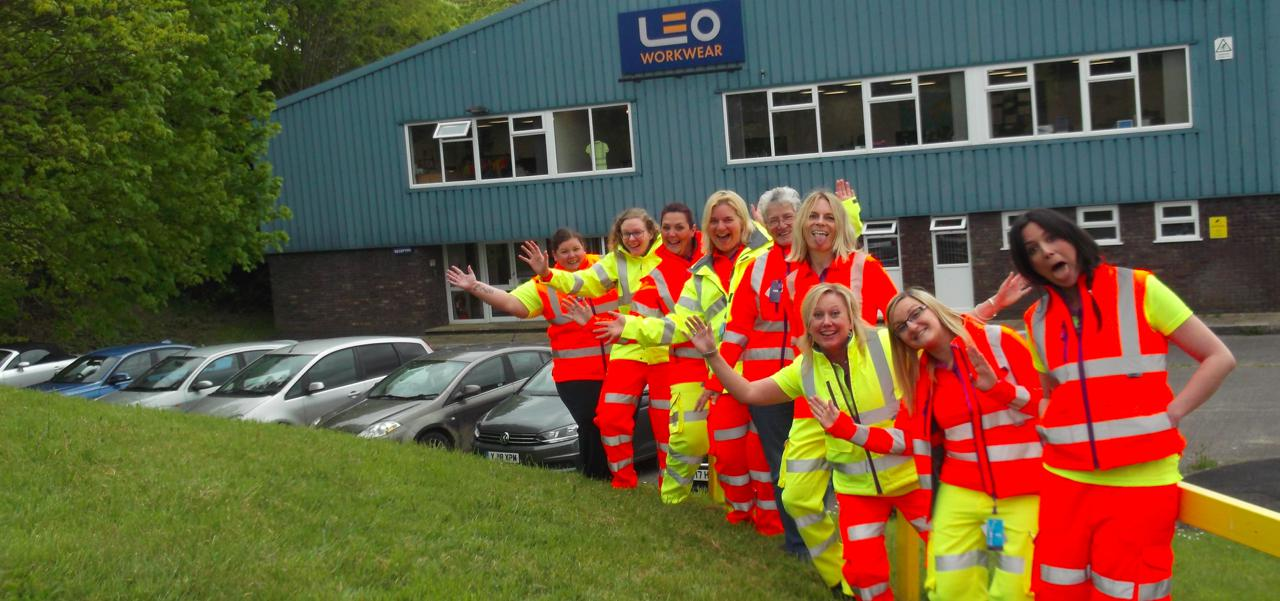 Ladies Hi Vis Workwear
