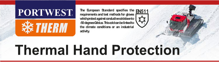 Portwest Gloves - Thermal Protection