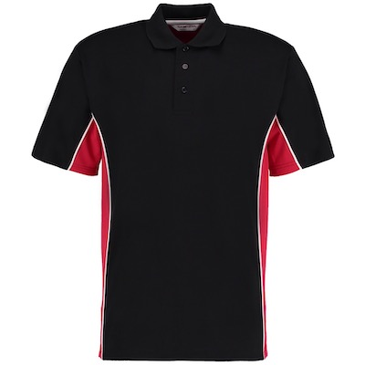 Contrast Two Tone Polo Shirts