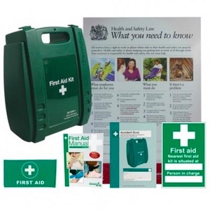 First Aid Kits & Safety in Work