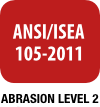 ANSI / ISEA 105-2011 Abrasion Level 2