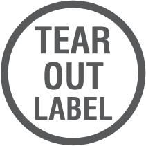 Tear Out Label