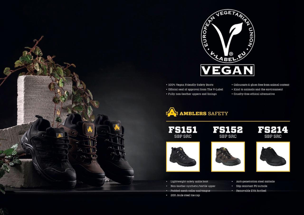 Amblers Safety Vegan Footwear Range