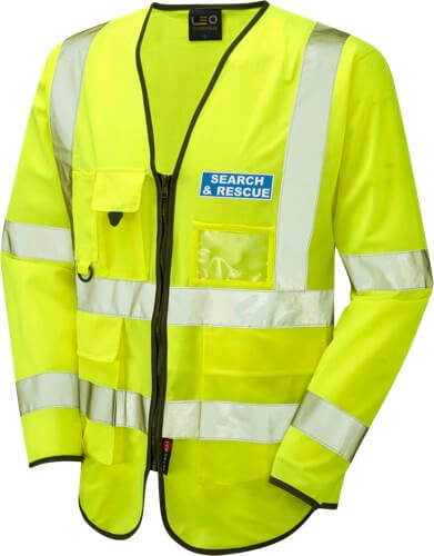 Leicestershire Search and Rescue Hi Vis Safety wear