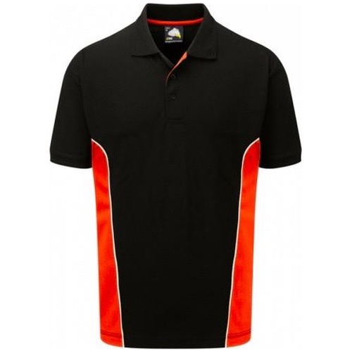 ORN Clothing 1180 Silverswift Two Tone Polo Shirt 220gsm