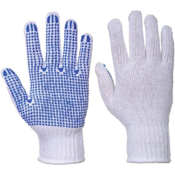 Portwest A111 Fortis Polka Dot Gloves - PVC