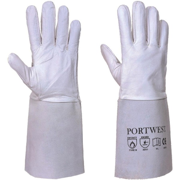 Portwest A520 Premium Tig Welding Gauntlet Gloves
