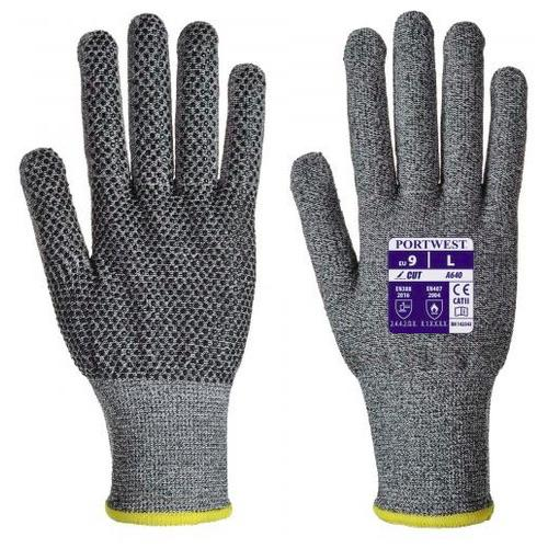 Portwest A640 Sabre-Dot Glove - PVC