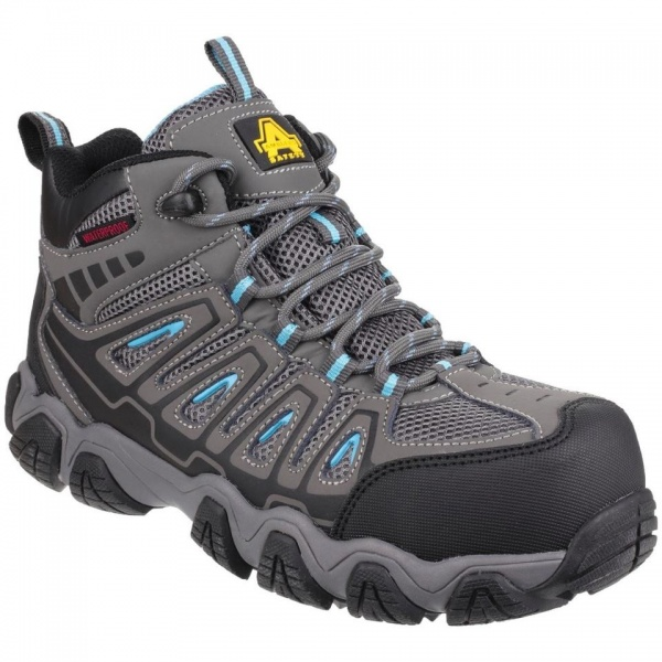 Amblers Safety AS802 Waterproof Non-Metal Womens Hiker Safety Boots