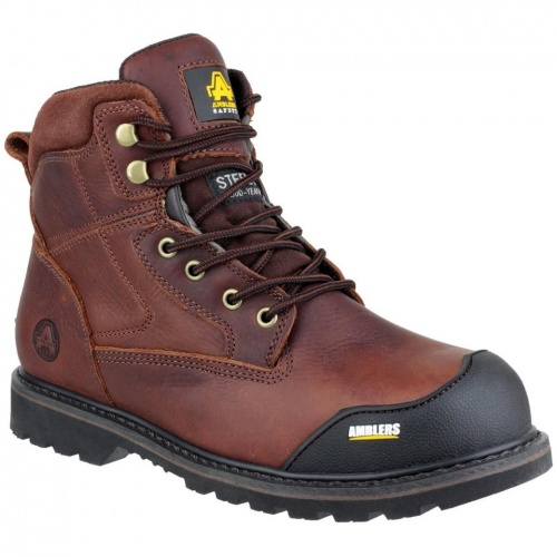 Amblers Safety Boot Brown FS167 SBP