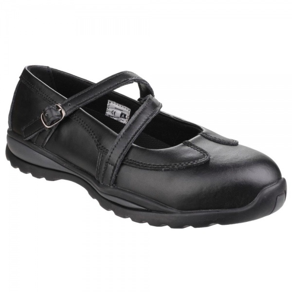 Amblers Safety FS55 S1P Womens Safety Shoes with Buckle