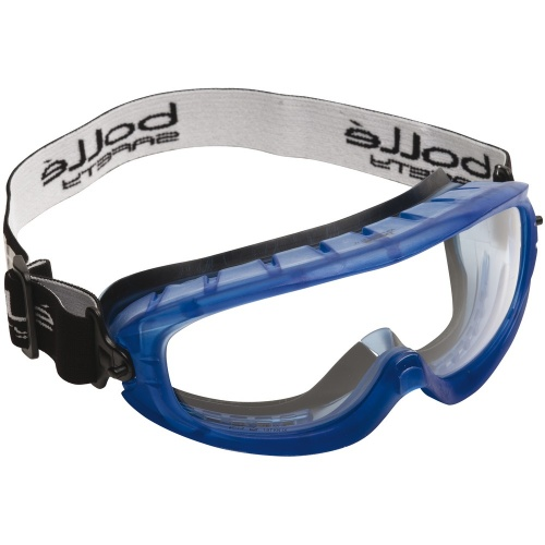 Bolle Safety ATOM ATOFAPSI Safety Goggles Platinum Clear Breathable Foam