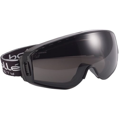 Bolle Safety PILOT PILOPSF Safety Goggles Platinum Smoke