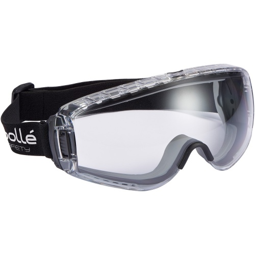 Bolle Safety PILOT PILOPSI Safety Goggles Platinum Clear
