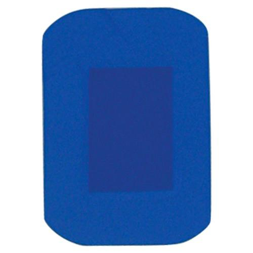 D7003 HypaPlast Blue Detectable Catering Plasters 7.2 x 5cm Pack of 100