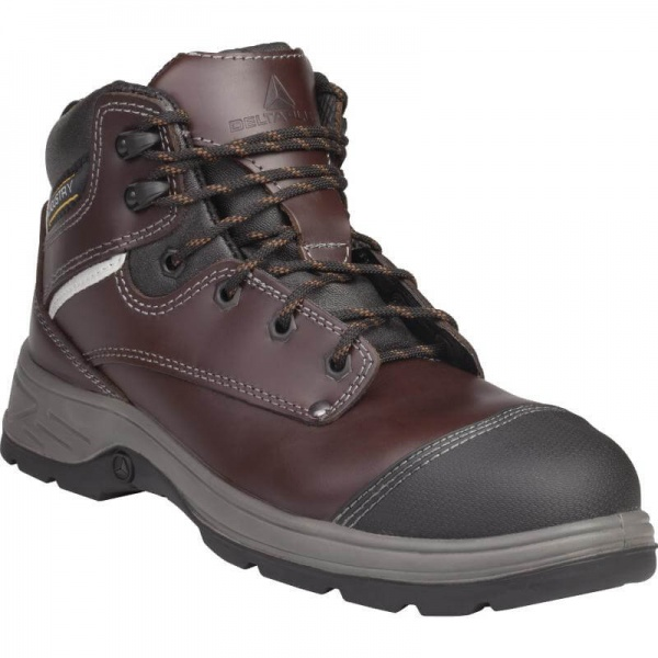 Delta Plus Frontera S3 Full Grain Leather Composite Safety Boots S3 HRO CI HI SRC