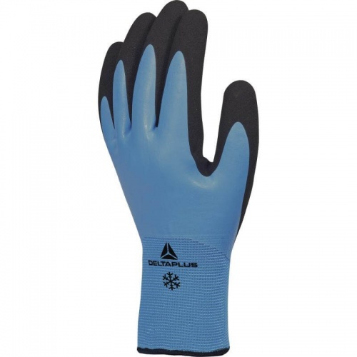 Delta Plus Thrym VV736 Fully Coated Waterproof Foam Latex Palm and Thermal Lined Gloves EN388 2342 & EN511 121