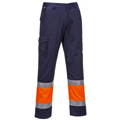 Portwest E049 Hi Vis Two Tone Combat Trousers