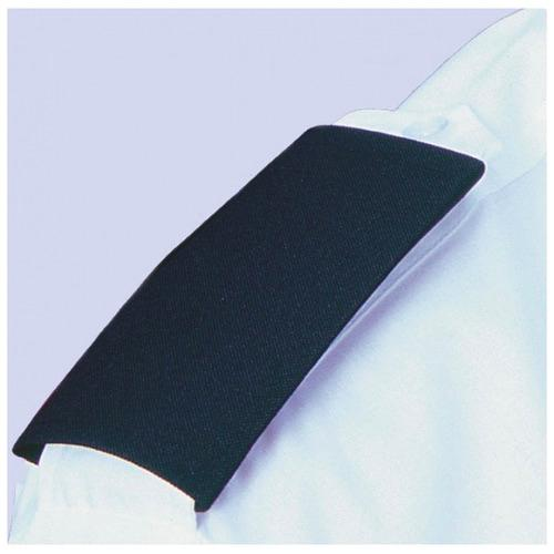 Epaulette Cover Black set of 2, Security Logo