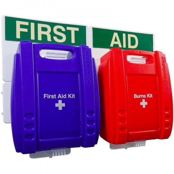 Evolution FAPB1 British Standard Compliant Catering First Aid Point