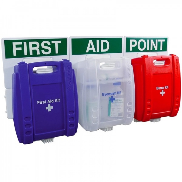 Evolution Comprehensive Catering First Aid Point Blue Case