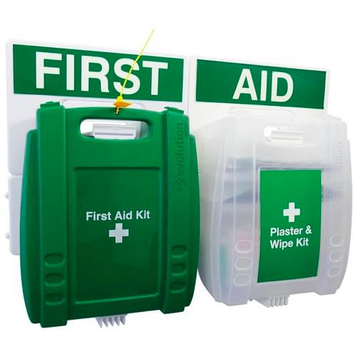 Evolution First Aid and Plaster & Wipe Points
